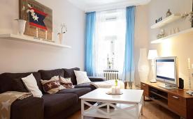 北漂白领雅致暖居装修 北欧风格单身公寓装修设计效果图欣赏