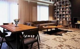工业魅力阁楼公寓装修 复古工业风格装修设计效果图欣赏