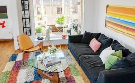 充满激情的夏日公寓装修 夏日北欧风情公寓装修设计效果图赏析