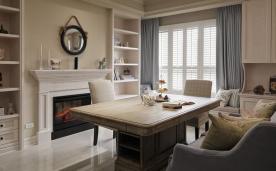 充满生活温度的奶茶色美式乡居装修 美式乡居装修设计效果图赏析