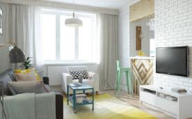小户型北欧风格公寓装修 北欧风格公寓装修设计效果图欣赏
