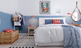 开放式低彩度公寓装修 北欧公寓装修设计效果图欣赏