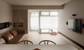 一家三口其乐融融家居装修 现代简约家居装修效果图欣赏