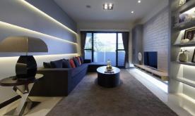 光影调味时尚的简约两居室设计案例 简约时尚两居装修效果图赏析