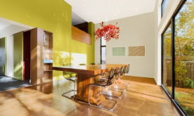 秋天枫叶现代简约风格住宅装修案例 现代简约风格装修设计效果图赏析