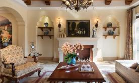 美式温暖色彩家居装修案例 美式温暖家居装修设计效果图欣赏