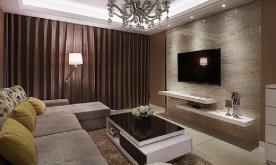 100平现代简约两室两厅装修案例 100平现代简约风格装修设计效果图赏析
