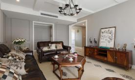 现代美式风格大气居室装修案例 现代美式风格装修设计效果图欣赏