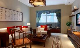 两居室新中式风格装修案例 新中式两居风格装修设计效果图赏析