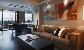 圆旅行生活家的定居梦想装修案例 创意混搭家居装修设计效果图欣赏