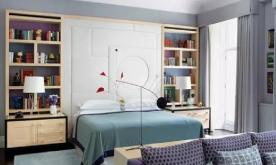 一个超前设计的大都会公寓装修 创意混搭公寓装修设计效果图
