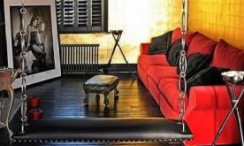 朋克风黑色魅影公寓装修案例 个性化风格公寓装修设计效果图赏析
