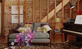倾泻一地的早春诗意私宅装修案例 自然田园风格装修设计效果图欣赏