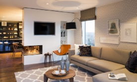 现代风艺术公寓装修案例 现代风艺术公寓装修设计效果图欣赏
