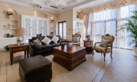 美式风格遇见英式情调的复式家居装修案例 美式风格装修设计效果图赏析