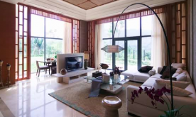 南亚风格错层大宅实景案例 南亚风格大宅装修设计效果图赏析