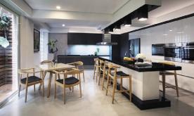 内敛于形的自在装修案例 开启新风格的现代雅致四居装修设计效果图赏析