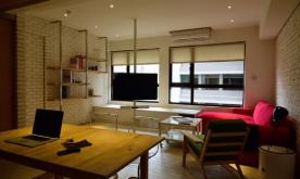 前卫色彩的粗犷86平Loft公寓装修案例 86平Loft公寓装修设计效果图赏析