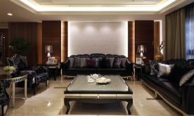雍容华美的大宅空间装修案例 现代时尚大宅空间装修设计效果图赏析
