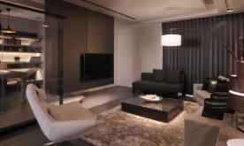 三居华丽变身四居室装修案例 现代四居装修设计效果图欣赏
