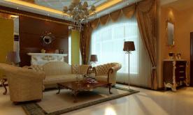 三居室美式装修案例 美式三居装修设计效果图赏析