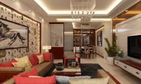 三居室新中式风格装修案例 新中式三居装修设计效果图欣赏