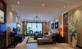 新中式古典公寓装修案例 新中式古典风格公寓装修设计效果图欣赏