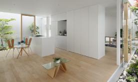 四周无窗的绿色环保日式住宅装修案例 开放式日式住宅装修设计效果图赏析