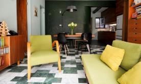 93平米北欧复古公寓装修案例 93平北欧复古公寓装修设计效果图赏析
