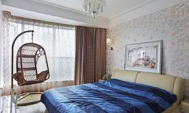 卧室休闲大吊篮装修案例 140平大气时尚又奢华装修设计效果图欣赏