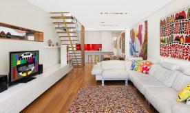 五彩缤纷的现代化住宅设计案例 五彩缤纷的现代化住宅装修设计效果图赏析