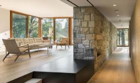 工业元素的私人豪宅装修案例 工业化私人住宅装修设计效果图欣赏