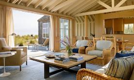 依山傍海的创意海滩别墅装修案例 别墅效果图设计实景欣赏