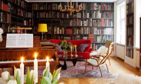 以家具打造的古典风公寓装修案例 古典家居设计效果图赏析