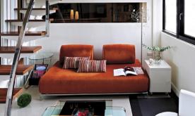 优美的圆弧抛物扶梯聚焦空间美感装修案例 室内现代简约效果图欣赏