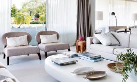 优雅原生质感空间公寓装修设计案例 单身公寓设计效果图欣赏