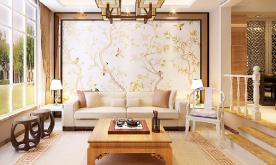 时尚老太家居装修设计案例 2017新中式装修效果图欣赏