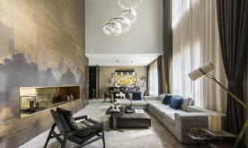 再续东方美学装修案例 新中式别墅效果图欣赏