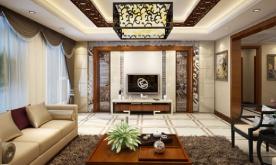 新中式风格别墅装修设计案例 新中式别墅效果图赏析