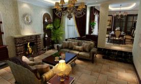 260平美式别墅装修案例 260平美式别墅效果图分享