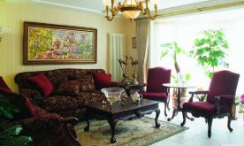 130平新古典欧式混搭三居装修设计案例 130平混搭三居装修效果图欣赏