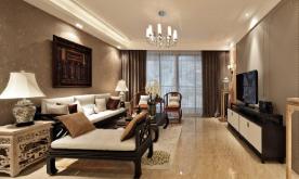 175平米中式风格三居装修设计案例 175平中式风格三居效果图赏析