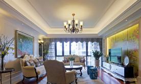 中西元素巧妙融合公寓装修设计案例 中西融合家装效果图赏析