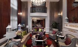 英式别墅样板房装修设计案例 英式别墅效果图赏析