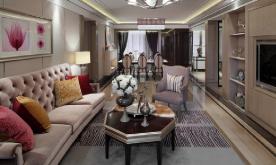 新古典风165平样板房装修设计案例 新古典风效果图赏析