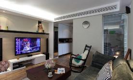 89平现代混搭家装修设计案例 混搭风格效果图欣赏