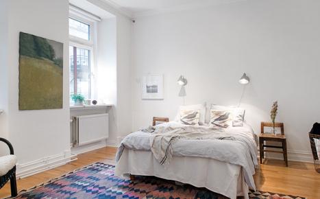 爱与阳光的美丽白色小宅 北欧风格装修案例效果赏析