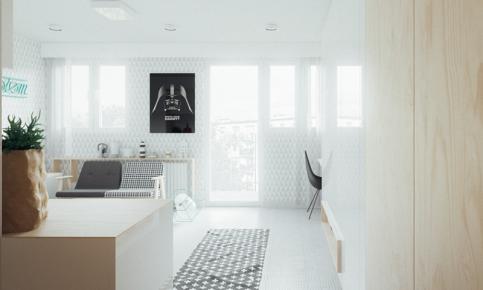 后现代家居装修设计案例 后现代家居效果图欣赏