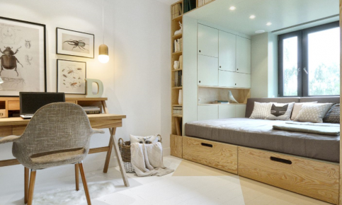 小户型单身公寓装修设计案例 小户型单身公寓效果图欣赏
