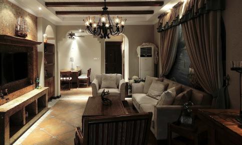 地中海风格家装设计案例 地中海家装实景欣赏